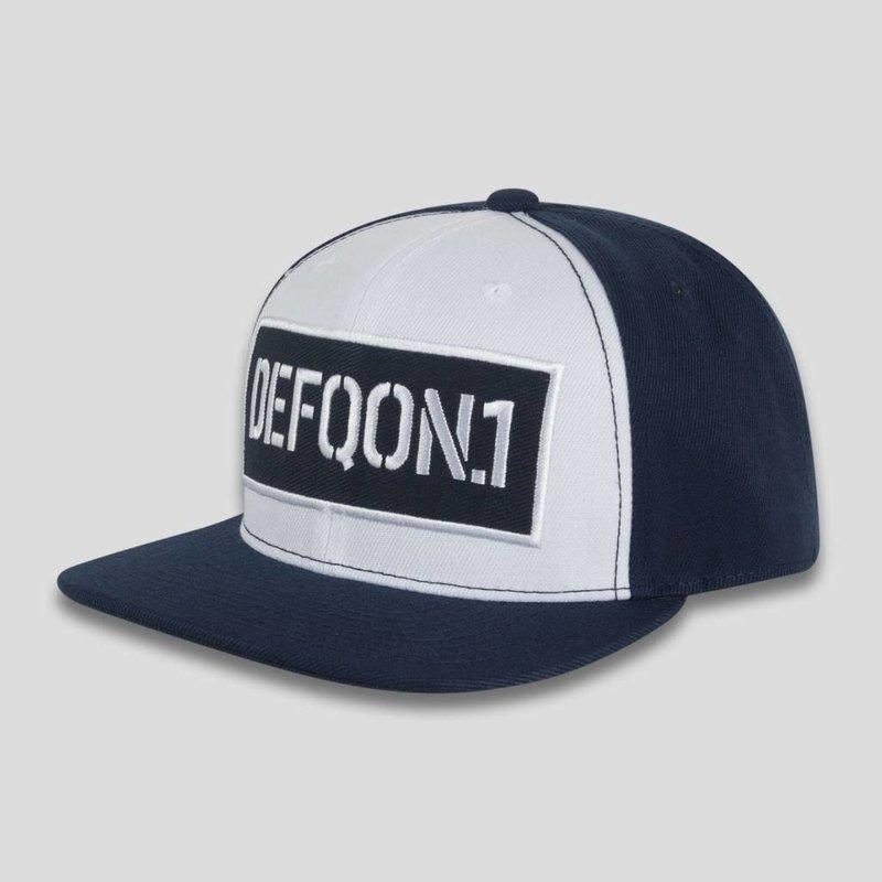 Defqon.1 snapback navy/white