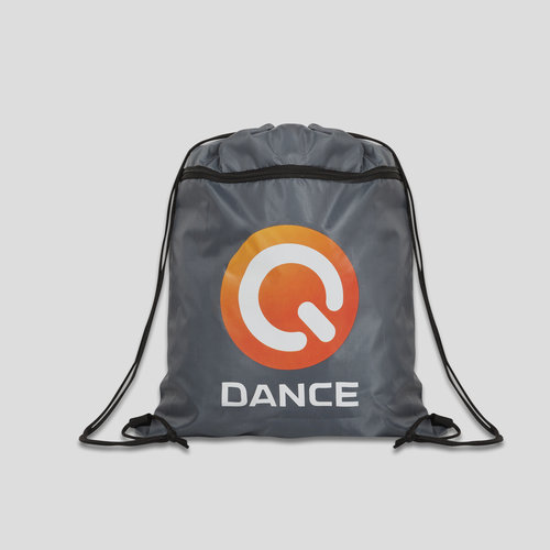Q-dance stringbag grey