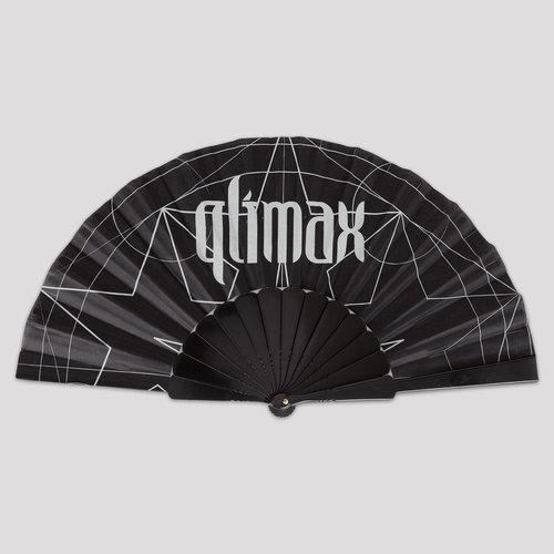 Qlimax handfan black/white