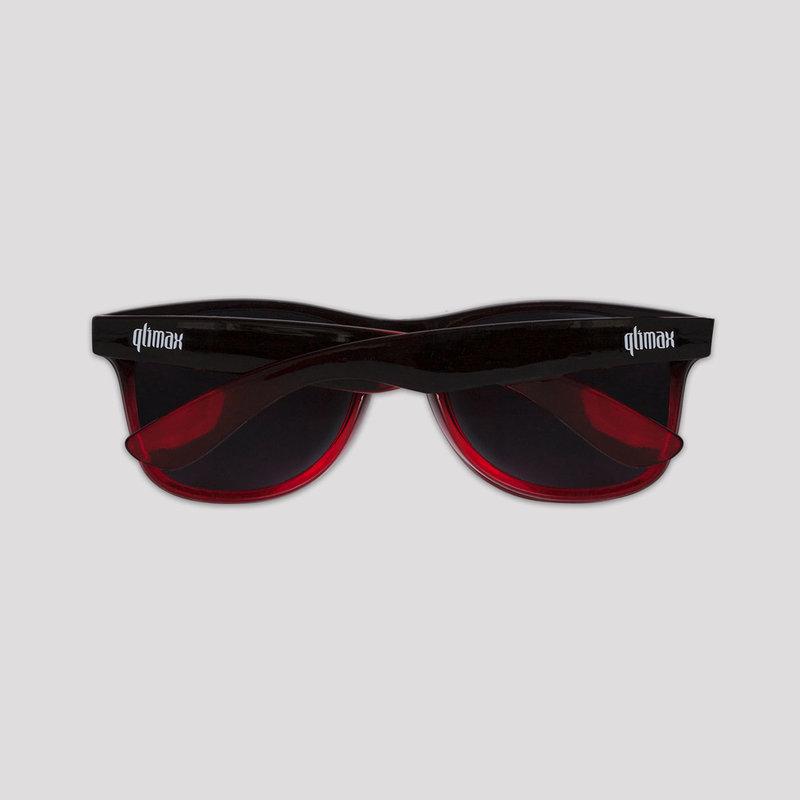 Qlimax sunglasses black/red
