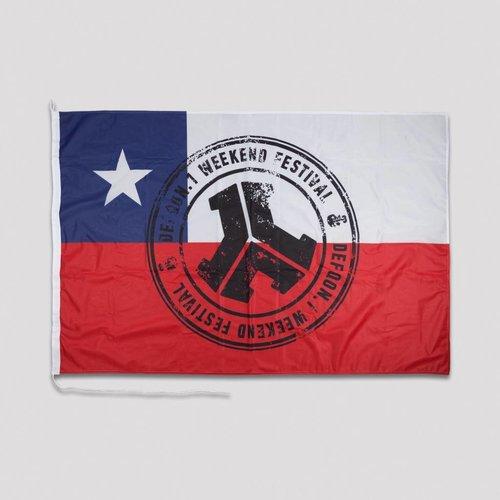 Defqon.1 flag Chile