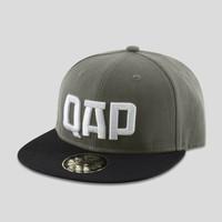 Qapital snapback grey/black
