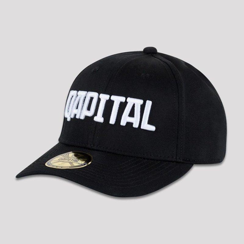 Qapital basball cap black