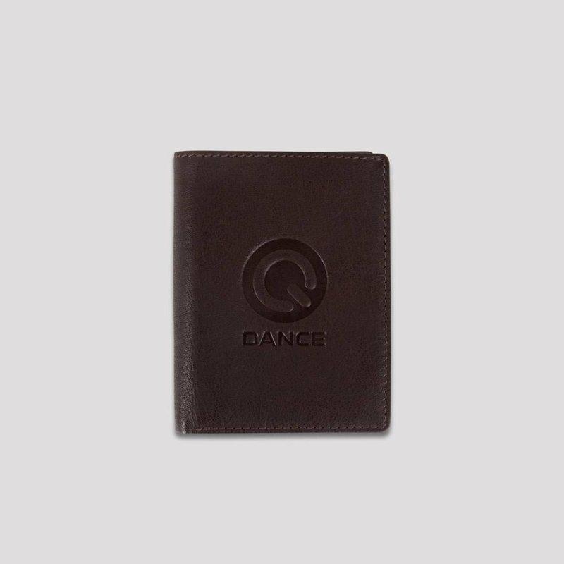Q-dance leather creditcard holder