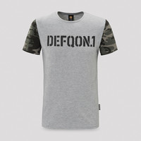 Defqon.1 t-shirt heather grey/camo