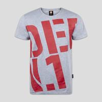 Defqon.1 t-shirt heather grey/red