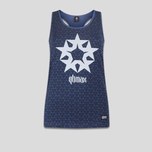 Qlimax tanktop blue/white