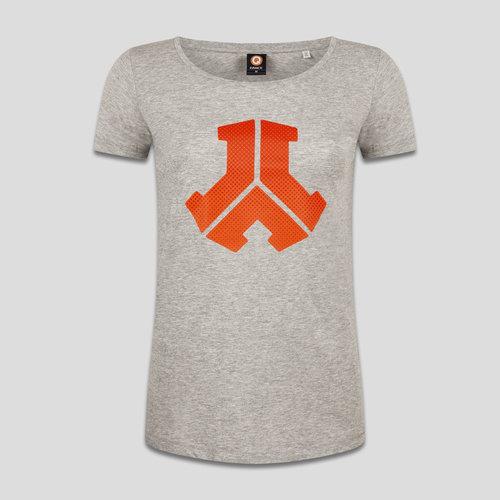 Defqon.1 t-shirt heather grey/orange
