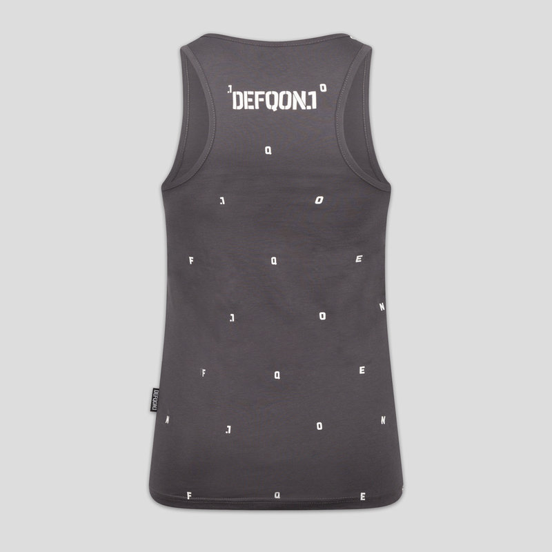 Defqon.1 tanktop dark grey