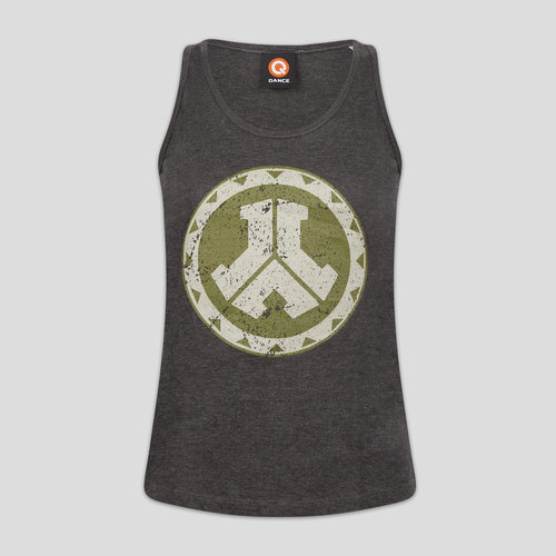 Defqon.1 tanktop grey/green