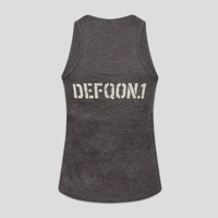 Defqon.1 tanktop grey/green