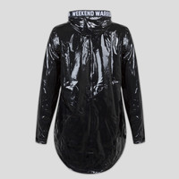 Defqon.1 raincoat black