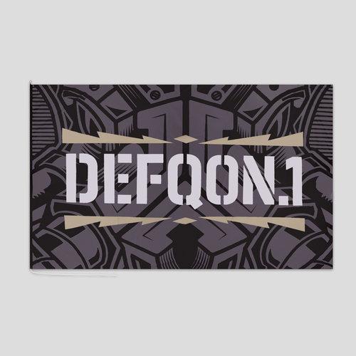 Defqon.1 xl flag black