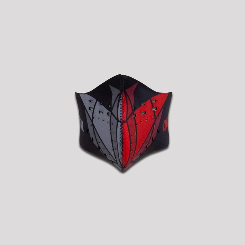 Qapital facemask red/grey