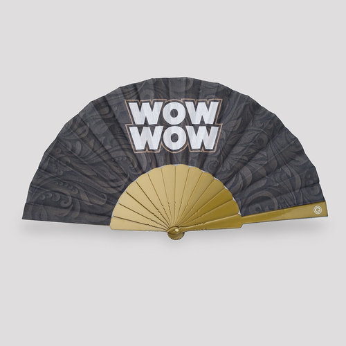 Wow wow handfan black