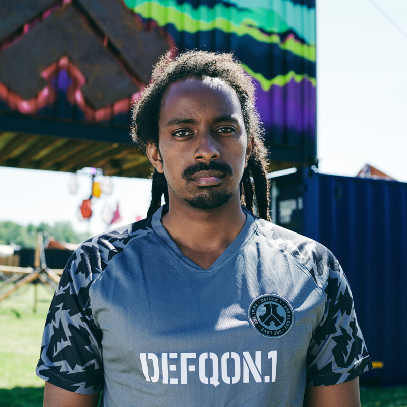 Defqon.1 football shirt grey/camo