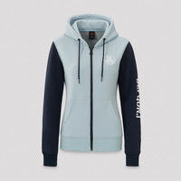 Defqon.1 hooded zip blue/navy