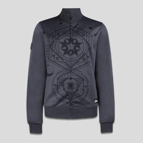 Qlimax track jacket grey