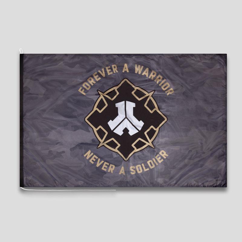 Defqon.1 flag camo/gold