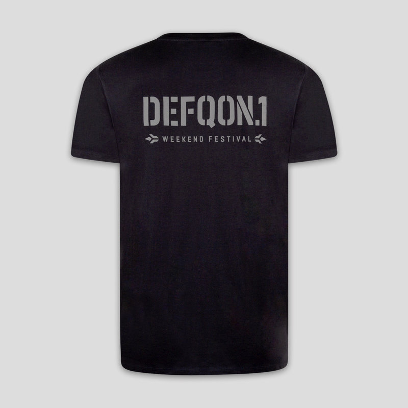 Defqon.1 them t-shirt black