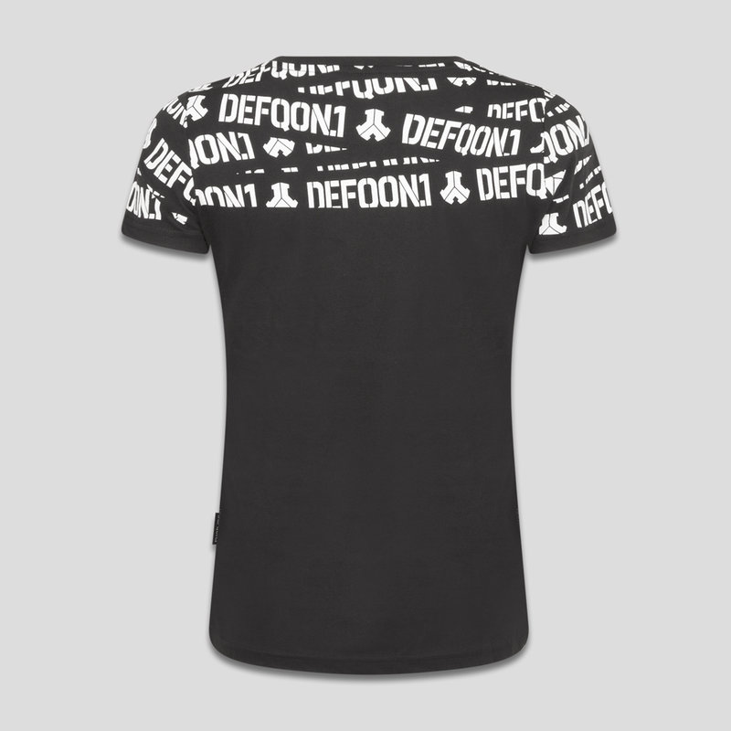 Defqon.1 t-shirt black/white