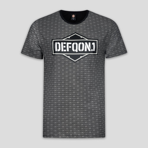 Defqon.1 t-shirt pattern/dark grey