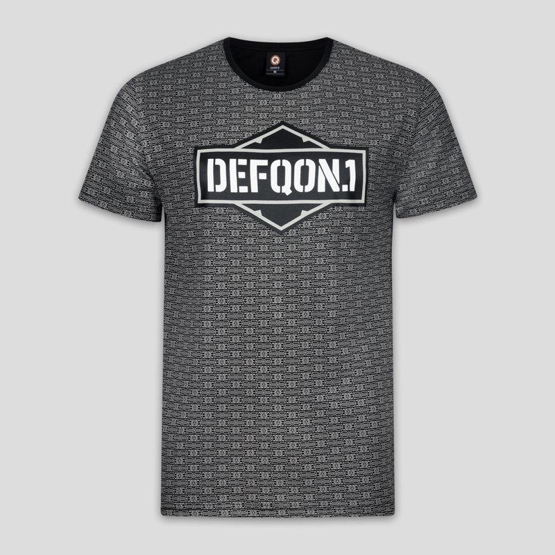 Defqon.1 t-shirt pattern/dark grey