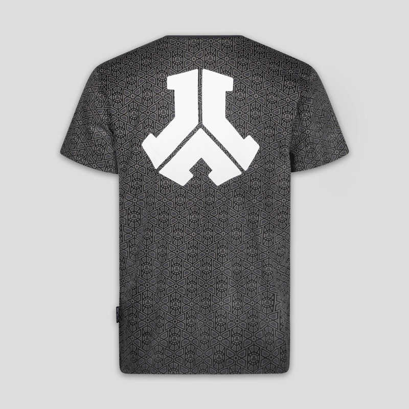 Defqon.1 t-shirt anthracite/pattern