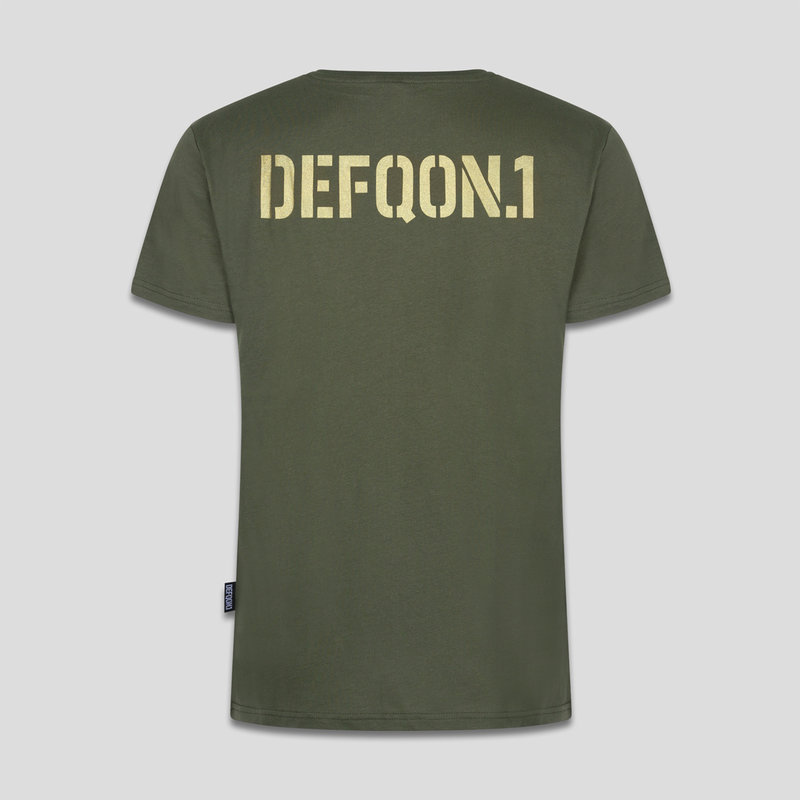 Defqon.1 t-shirt army green