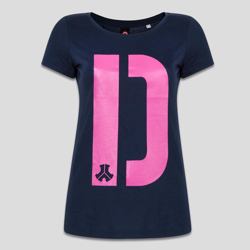 Defqon.1 t-shirt navy/pink