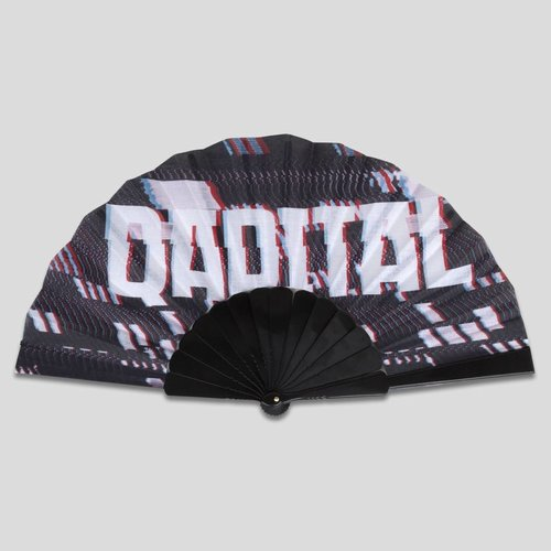 Qapital handfan black/grey
