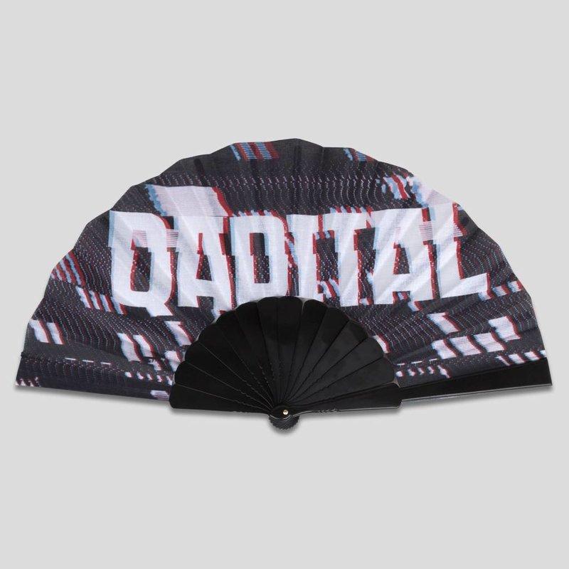 Qapital handfan black/grey
