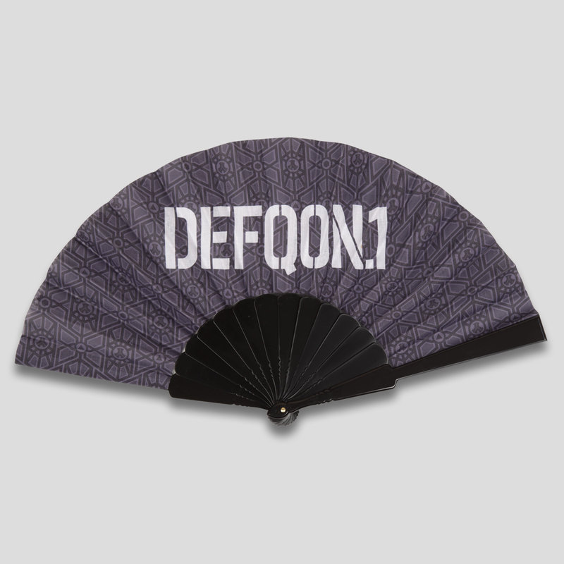 Defqon.1 handfan grey