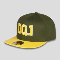 Defqon.1 snapback green/yellow