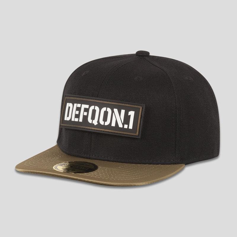 Defqon.1 snapback black/gold