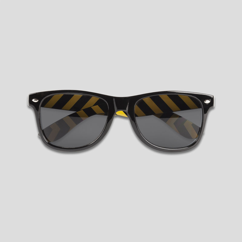 Q-base sunglasses black/yellow