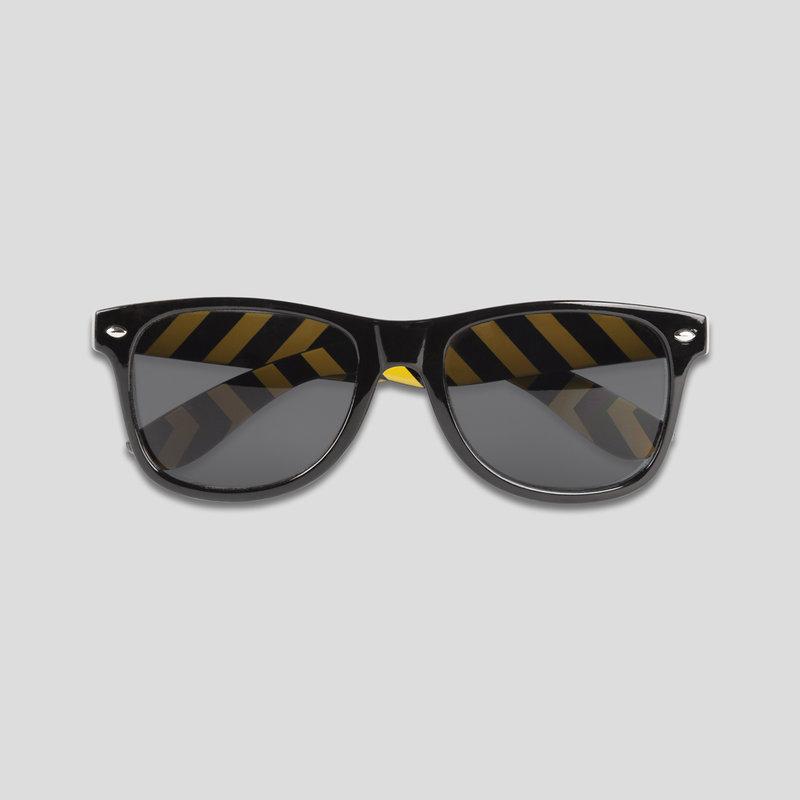 Q-base sunglasses black/yellow