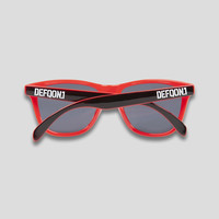 Defqon.1 sunglasses black/red