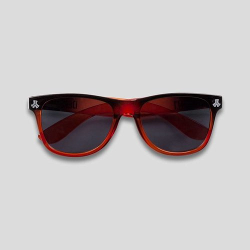Defqon.1 sunglasses transparant/red