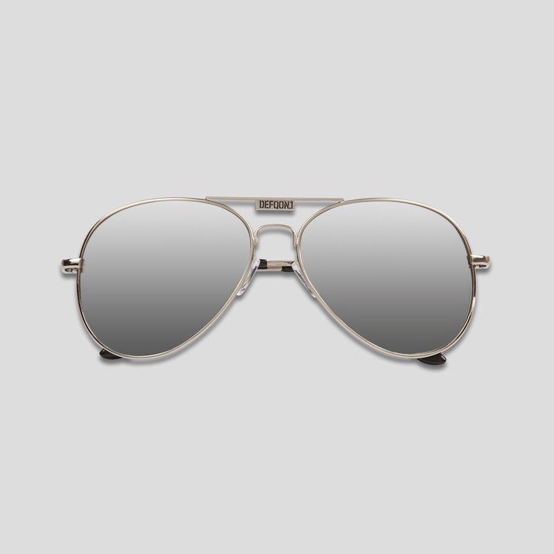 Defqon.1 aviator sunglasses silver