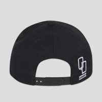 Q-dance snapback black/white