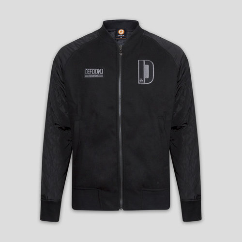 Defqon.1 padded bomber black