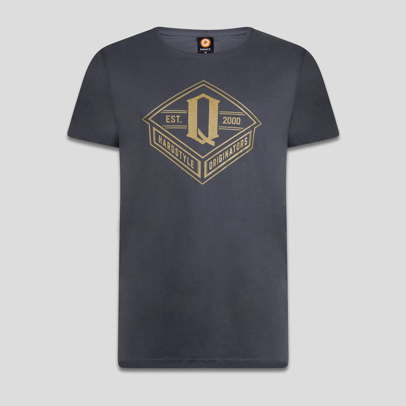 Q-dance t-shirt anthracite