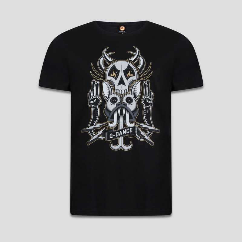 Q-dance t-shirt black