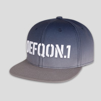 Defqon.1 snapback gradient blue