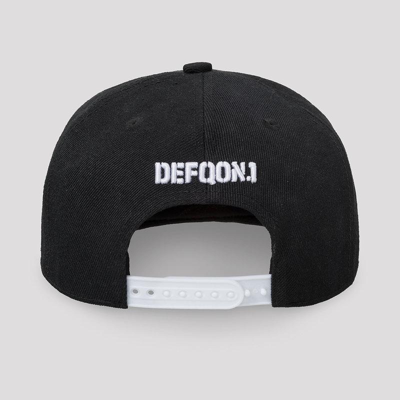Defqon.1 snapback black/white