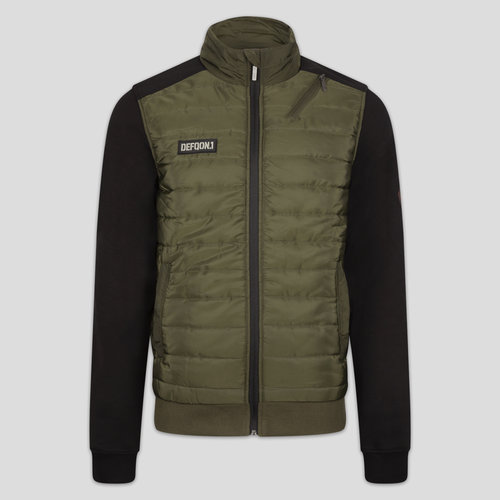 Defqon.1 padded jacket green/black