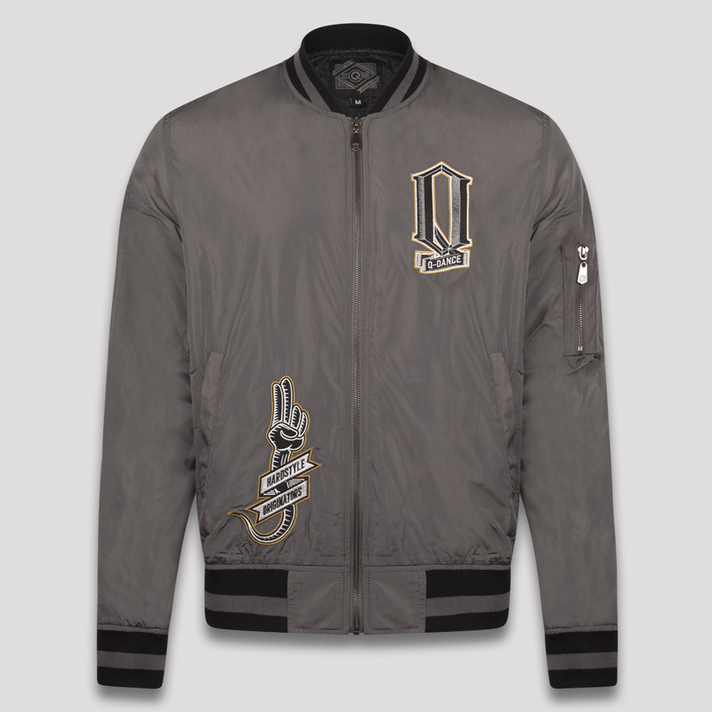 Q-dance bomber anthracite/black