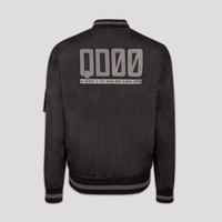 Q-dance reversible bomber black
