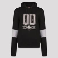 Q-dance hoodie black